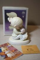 Precious Moments You Can Always Count on Me 1995 Figure w/Box 526827 Piggy Bank