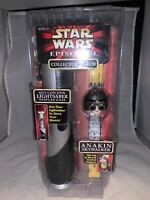1996 Star Wars Episode I Anakin Skywalker Watch With Light Saber Case-NRFP