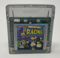 Nicktoons Racing (Nintendo Game Boy Color, 2000) Authentic Tested + Working