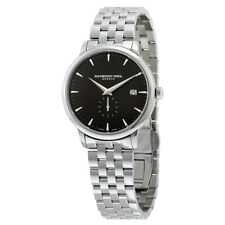 Raymond Weil Toccata Black Dial Stainless Steel Mens Watch 5484-ST-20001