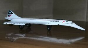 Matchbox 1978 BA Concorde Diecast SB 23 Model Toy With Paint Wear