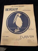 Partition The pelican Clapson Music Sheet