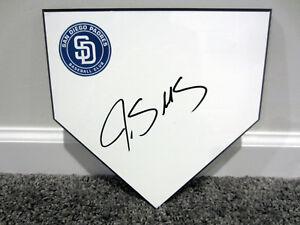 JAMES SHIELDS San Diego Padres SIGNED Autographed Home Plate Base Plaque w/ COA