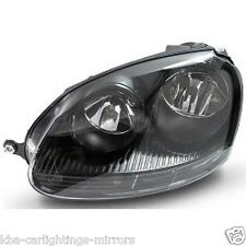 VW Golf MK5 2004-2008 headlight headlamp BLACK LH LEFT PASSENGER SIDE BRAND NEW