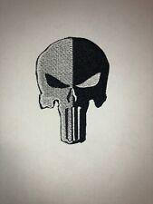 Totenkopf Patch Aufnäher Skull Biker Motorrad Patches Set Aufbügler Groß
