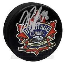 Jesse Puljujarvi Edmonton Oilers Signed Autographed Heritage Classic Puck