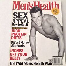 Men's Health Magazine How To Get Sex Appeal December 1999 061417nonrh