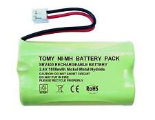Tomy SRV400 Digital Video Baby Monitor 2.4V 1800mAh NiMH Rechargeable Battery UK
