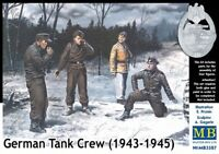 MAS3507 - Masterbox 1:3 5 Scala - German Tank Crew (1943-1945) Kit No. 1
