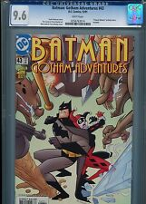 Batman Gotham Adventures #43 (Harley Quinn) CGC 9.6 WP