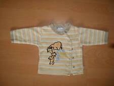 Baby Neugeborenen Jacke beige Streifen Giraffen Gr. 62 - Junge oder Mädchen