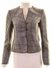 ARMANI COLLEZIONI Womens 3 Button Blazer Jacket IT 40 Small Multicoloured  IT11