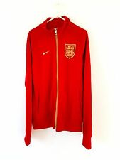 England Track Top / Jacket. Small Adults. Nike. Red S Long Sleeves Football Coat