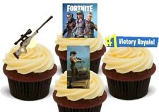 Fortnite Sniper pack Stand Up Premium Card Cake Toppers