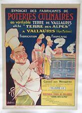 Original Vintage Poster Poteries Culinares ca.1918 by Vavasseur