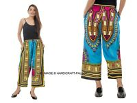 Dashiki Africain Pantalon Yoga Coton Sarouel Indien Traditionnel Pyjama Pantalon