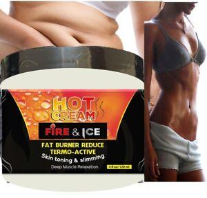 Natural Skin Tightening Hot Cream Anti Aging Body Treatment for Women MEN 4 ONZ