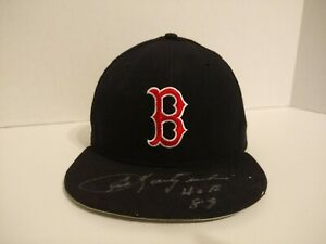 "Carl Yastrzemski ""HOF 89"" Autographed Signed New Era Hat Boston Red Sox"