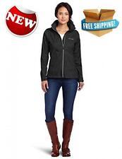 Columbia Womens Switchback II Jacket Outdoor Rain  Coats Fleece Black Medium New