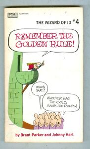 The Wizard of Id #4 Remember the Golden Rule 1971 VG+