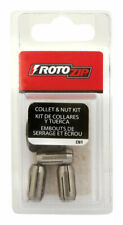 Rotozip  1.9 in. Dia. x .8 in. L Replacement Collet  3 pc.