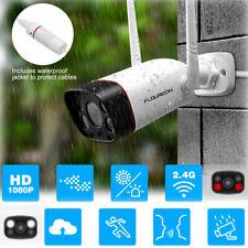 WIFI 1080P Wireless Bullet Security IP Camera 2 Light IR Night Outdoor Security
