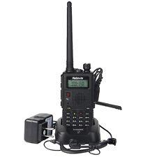Handheld Retevis RT5 Walkie Talkie Dual Band Two Way FM Radios Transceiver Alarm