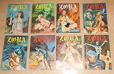 ED.SEGI S.R.L.  SERIE  ZORA LA VAMPIRA ANNO 2°  N°  10  1973  ORIGINALE !!!!!