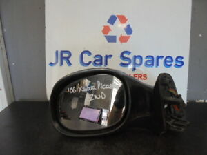 99-07 CITROEN XSARA PICASSO N/S PASSENGERS SIDE ELECTRIC WING MIRROR GREY EZWD
