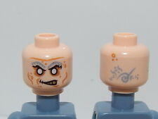Lego Minifigure Head Pirates Of The Caribbean Quartermaster Zombie H22