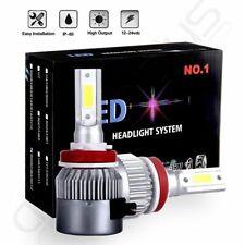 LED Headlight Kit H11 H8 H9 800W 120000LM Plug&Play Pair Bulbs CREE 6500K White