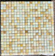 Glass Mosaic Tile - Medici Sahara - kitchen backsplash, bathrooms - 170 sheets