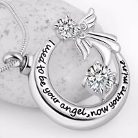 Urn Angel Necklace Cremation Jewellery Ashes Pendant Keepsake Memorial Funeral