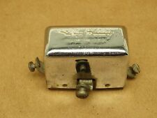 Vintage Harley Davidson Pan Head Delco Remy Chrome 6 Volt Relay