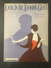 Look In The Looking Glass  -   1931 Vintage Sheet Music