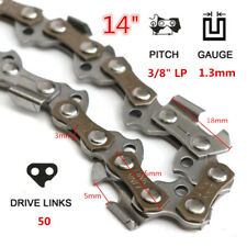 14'' 50 Drive Links 3/8 Pitch Chainsaw Saw Mill Chain For STIHL HOT