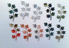 10 Piece Die Cut Mixed Small Foliage #4 - Scrapbooking, Cards, Papercrafts