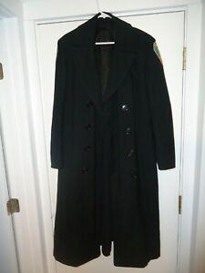 US NAVY Issue USN Officer Bridge Coat Wool  Sz 40 Long