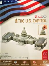 The US Capitol - (S.T.E.A.M) CubicFun 3D puzzle MC074h 132 pcs