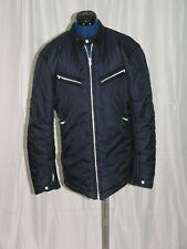 Maison Martin Margiela MM10 Blue Polyester Four Zipper Jacket US Size 4 IT 40