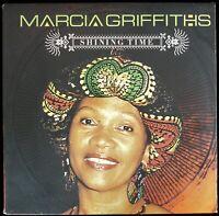 "MARCIA GRIFFITHS ""SHINING TIME"" 2005 VINYL LP ALBUM 12 TRACKS REGGAE *SEALED*"