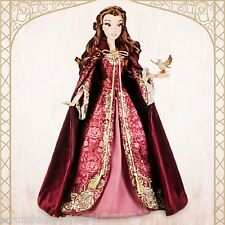 """Disney Store Princess Belle 17"""" Limited Edition LE 5000 Doll Beauty Beast 2016"""