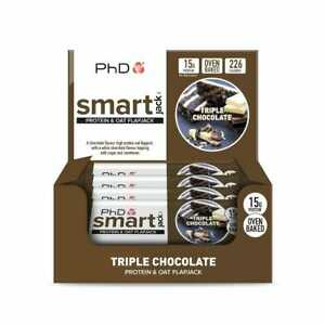PhD Smart Jack- High Protein Flapjack- (Multiple Flavours)