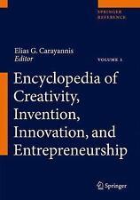 Encyclopedia of Creativity, Invention, Innovation and Entrepreneurship: By Ca...