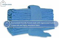 """Bulk Shop Towels Cleaning Rags Cotton 12""""x12""""- 500 &1000 Packs By Cotton Homes"""