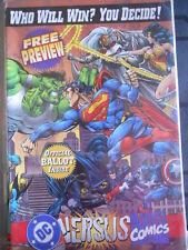 DC Versus Marvel Comics FRee Preview 1996 ed. DC MARVEL [SA6] RARE!!