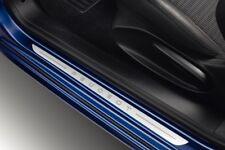 Peugeot 208 3 Door SET OF 2 FRONT DOOR SILL ALUMINIUM Effect - P1607558280
