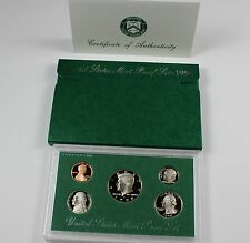 1998-S UNITED STATES MINT PROOF SET * 5 COIN SET *  WITH BOX/COA