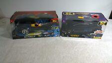 Batman Electronic Batmobile Lot x2 Mattel Extreme Power & Action Factory Sealed