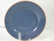 "Romertopf Terra Rosa by Reco Denin Blue Clay Dinner Plate 10-3/8"" NEW 1994 Rare"
